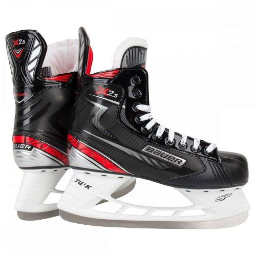 Хоккейные коньки Bauer Vapor X2.5 (подростковые), черный