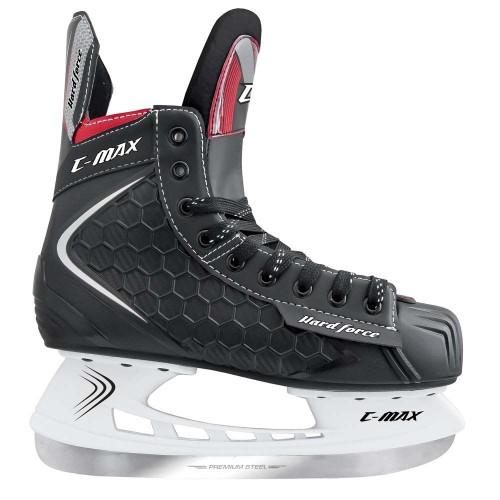 Хоккейные коньки MaxCity C-MAX красный