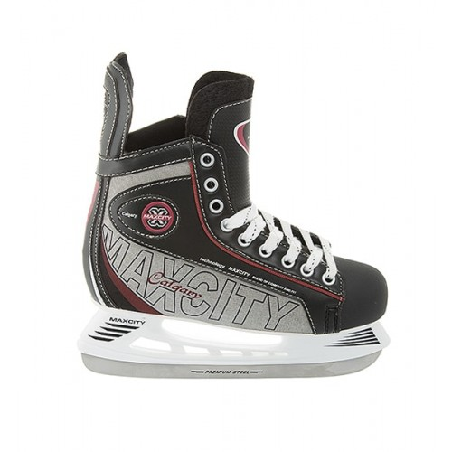 Хоккейные коньки MaxCity Calgary черный