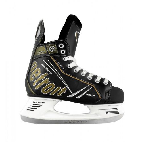Хоккейные коньки MaxCity Detroit черный