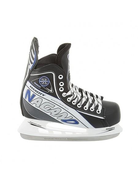 Хоккейные коньки MaxCity Nagano черный