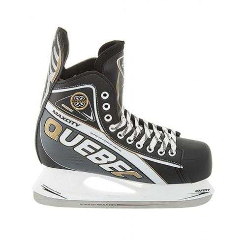 Хоккейные коньки MaxCity Quebec черный