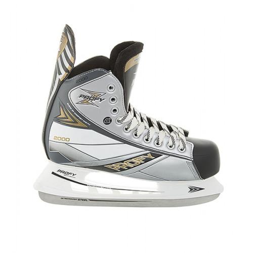 Хоккейные коньки СК (Спортивная Коллекция) Profy Z 2000 серый