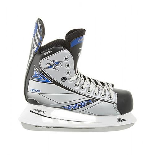 Хоккейные коньки СК (Спортивная Коллекция) Profy Z 5000 серый