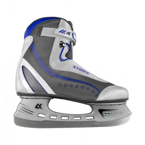 Хоккейные коньки СК (Спортивная Коллекция) STRIKE черный