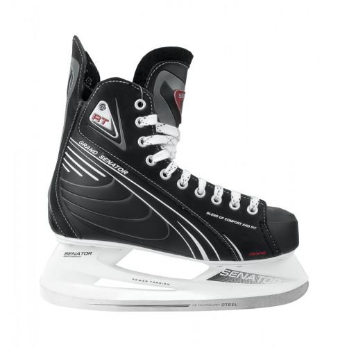 Хоккейные коньки СК (Спортивная Коллекция) Senator Grand RT черный