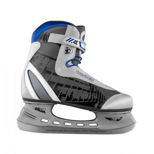 Хоккейные коньки СК (Спортивная Коллекция) Winter черный