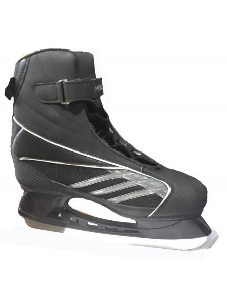 Прогулочные хоккейные коньки HEAD черный