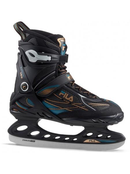 Прогулочные коньки Fila PRIMO ICE черный/синий/бронзовый