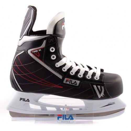 Хоккейные коньки Fila VIPER HC черный/красный