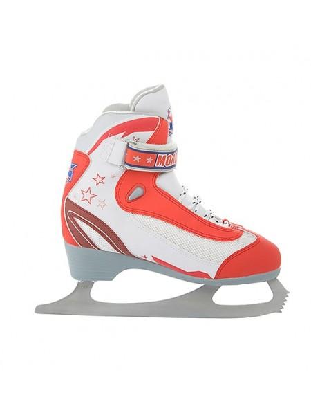Фигурные коньки СК (Спортивная коллекция) Молодежка MFS красный