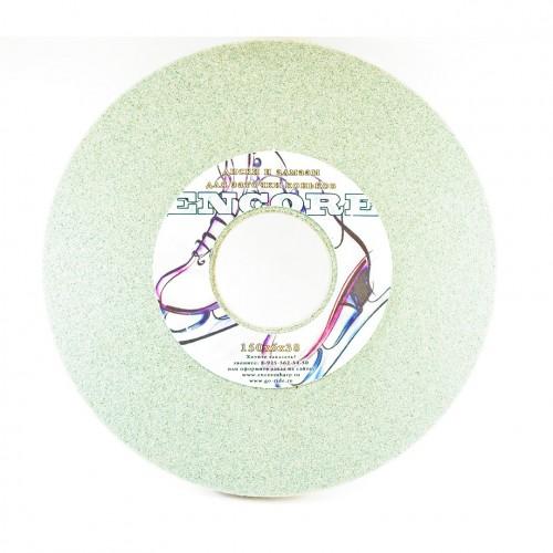 Диск для заточки коньков Encore, 150х6х38, зеленый