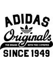 Комплект наклеек Adidas (3 шт)