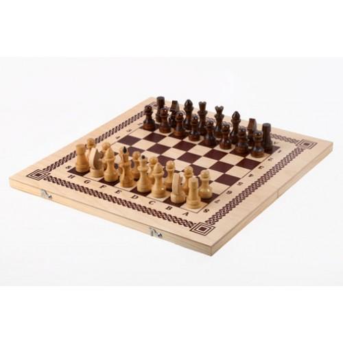 Игра три в одном (нарды, шашки, шахматы) 400*200*36 Орловская ладья