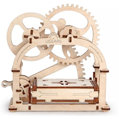 Деревянный конструктор UGEARS Механическая шкатулка