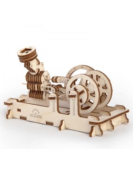 Деревянный конструктор UGEARS Пневматический двигатель