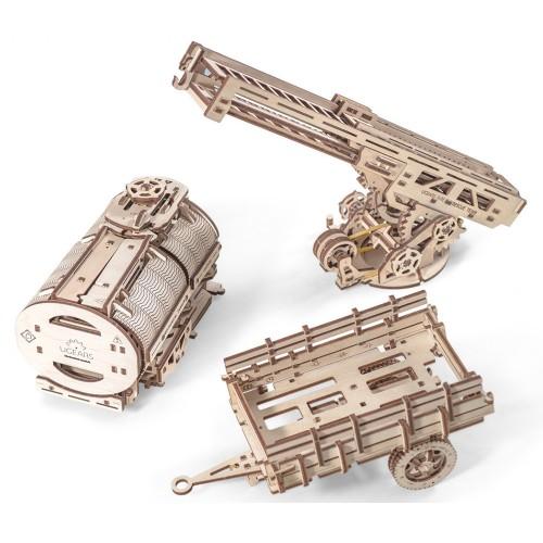 Деревянный конструктор UGEARS Дополнение к грузовику UGM-11