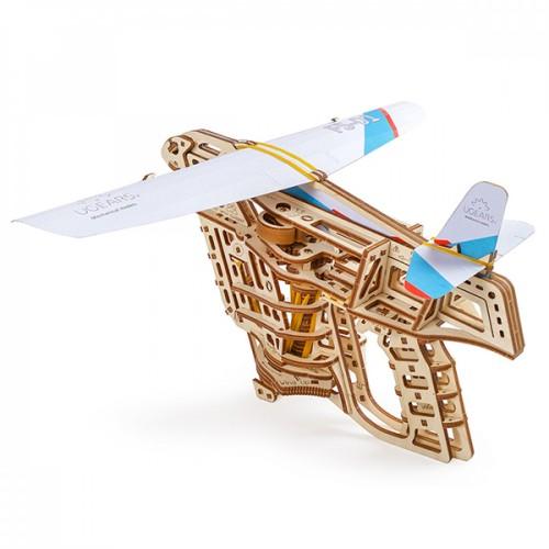 Деревянный конструктор UGEARS Пускатель самолетиков