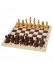 Шахматы турнирные утяжеленные в комплекте с доской 400*200*55 Орловская ладья