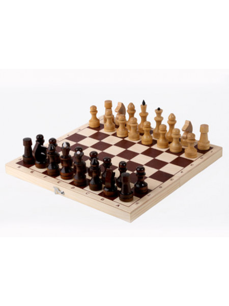 Шахматы обиходные лакированные с доской 290*145*38 Орловская ладья