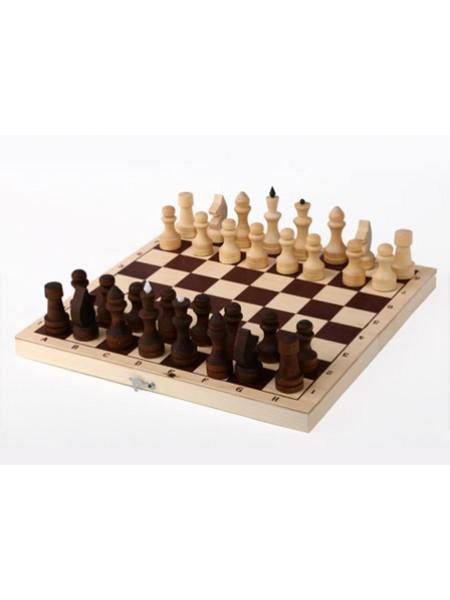 Шахматы обиходные парафинированные с доской 290*145*38 Орловская ладья
