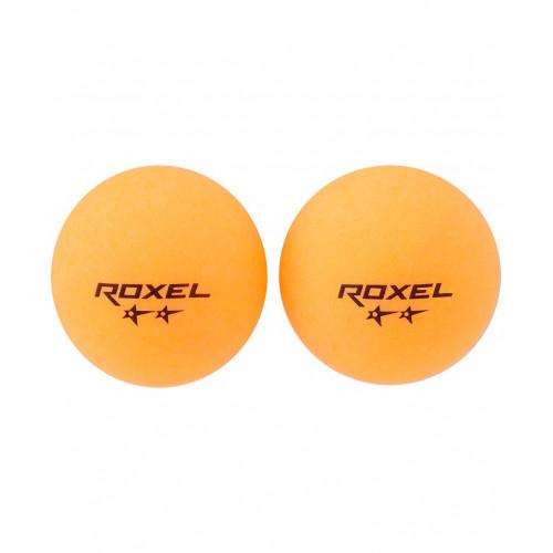 Мяч для настольного тенниса Roxel 2* Swift, оранжевый, 6 шт.