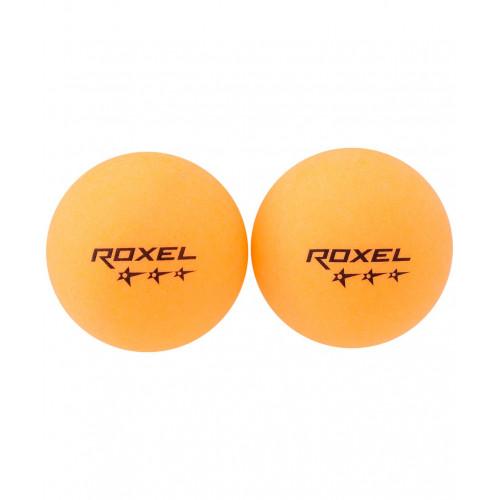 Мяч для настольного тенниса Roxel 3* Prime, оранжевый, 6 шт.
