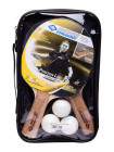 Набор для настольного тенниса Donic Persson 500, 2 ракетки + 3 мяча