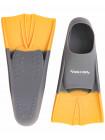 Ласты тренировочные Colton CF-01 серый/оранжевый