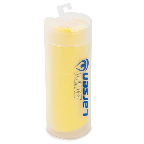 Полотенце спортивное Larsen SP43 (43х33 см) желтый