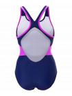 Купальник для плавания Colton SC-3901 Delicate, совместный со вставками, темно-синий/розовый, 42-50