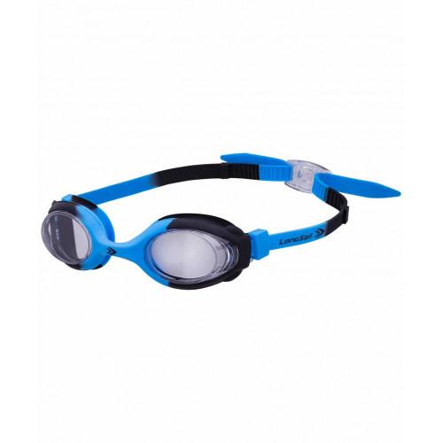 Очки для плавания LongSail Kids Crystal L041231, синий/черный