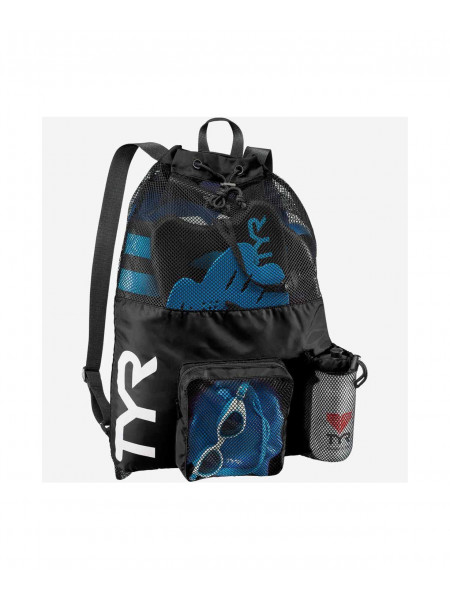 Рюкзак TYR Big Mesh Mummy Backpack, LBMMB3/001, черный
