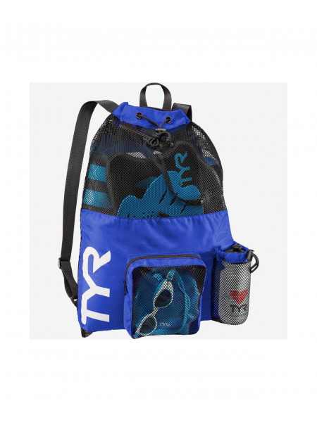 Рюкзак TYR Big Mesh Mummy Backpack, LBMMB3/428, голубой