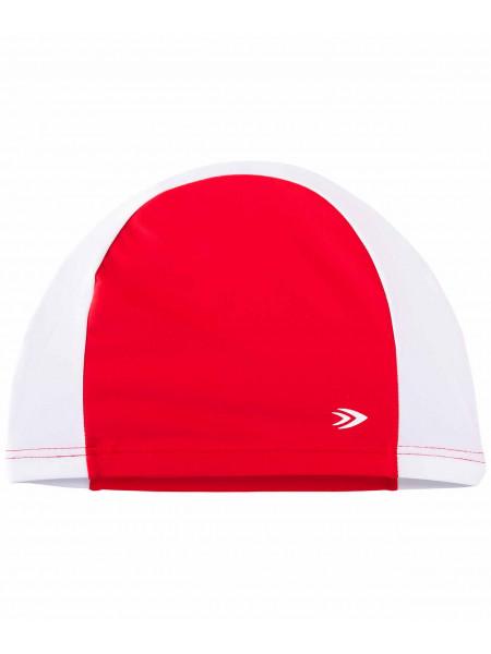 Шапочка для плавания LongSail, полиамид, красный/белый