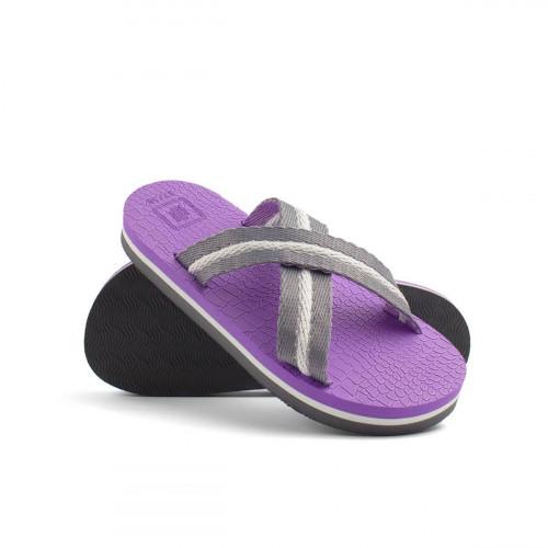 Сандалии женские X-fit фиолетово-бело-серый