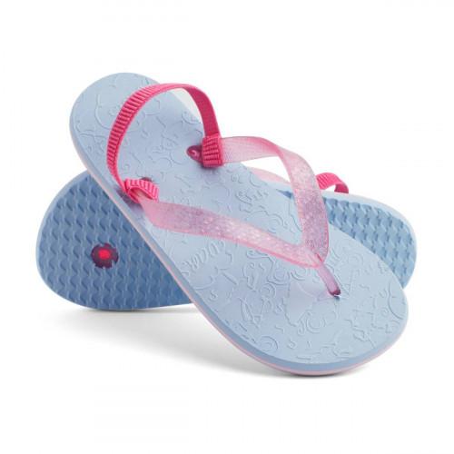 Сланцы для мальчиков и девочек Dance, пастельно- голубой/пастельно-розовый