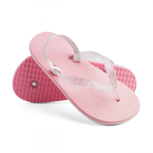 Сланцы для девочек FunnyForest, пастельно-розовый/белый