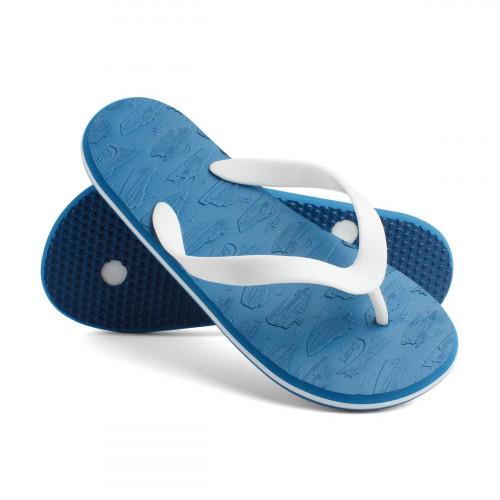 Сланцы детские для мальчиков SpeedBoats, синий/белый