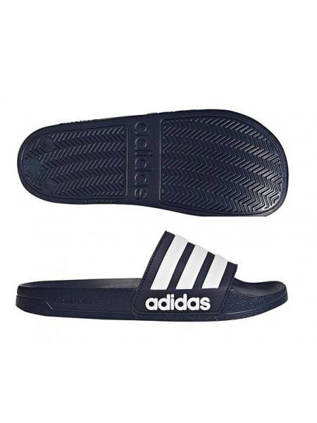 Сланцы Adidas Cloudfoam Adilette, темно-синий