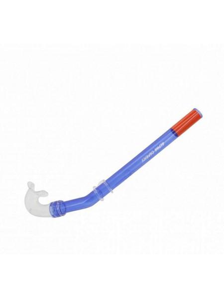 Трубка для плавания S-6137 ПВХ синяя