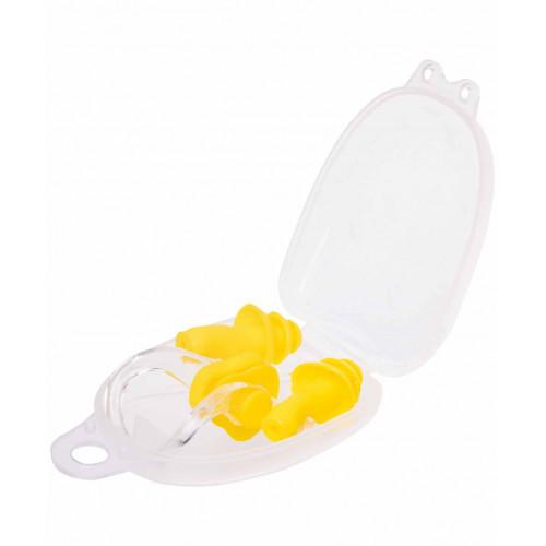 Набор из зажима для носа и берушей LongSail, желтый