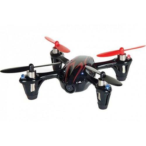 Радиоуправляемый квадрокоптер X4 Black c HD видеокамерой 2.4G Hubsan H107C(HD)