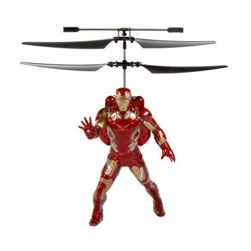 Радиоуправляемая игрушка - вертолет Железный человек Robocar Poli CX-24
