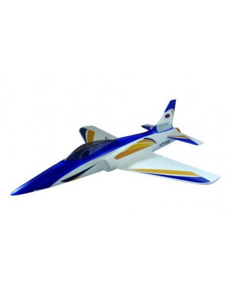 Радиоуправляемый самолет METEOR 70MM EDF RTF 2.4G Dynam DY8934