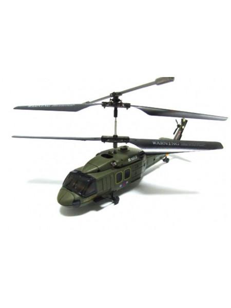 Радиоуправляемый вертолет Black Hawk UH-60 с гироскопом Syma s102G