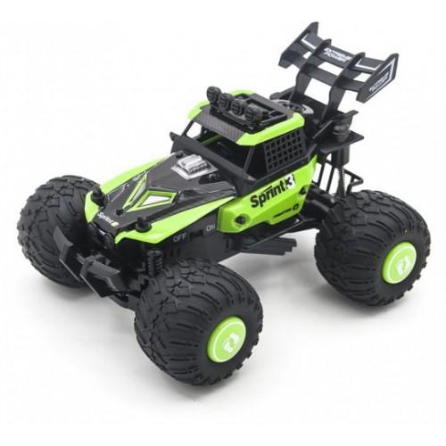 Радиоуправляемая трагги CraZon Ghost / Sprint 2WD 1:28 (сменные колеса и корпус) Create Toys CR-172802