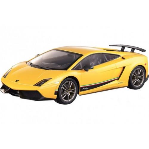 Радиоуправляемая машинка Lamborghini Gallardo Superleggera LP 570-4 масштаб 1:14 27Mhz MJX 8536