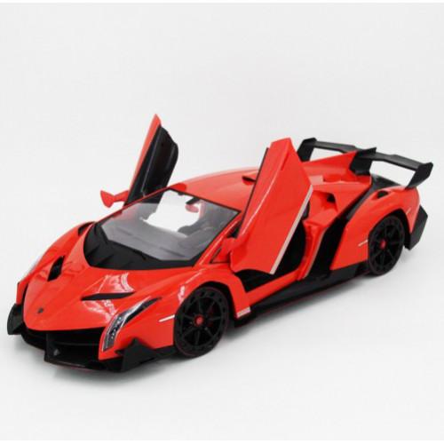 Радиоуправляемая машина Lamborghini Veneno Meizhi 2187 красный