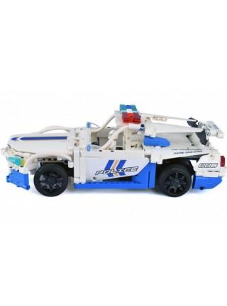 Конструктор радиоуправляемый Double Eagle Полицейская машина 430 деталей C51006W